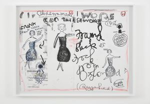 Clothes I Wore #1 by Rose Wylie contemporary artwork