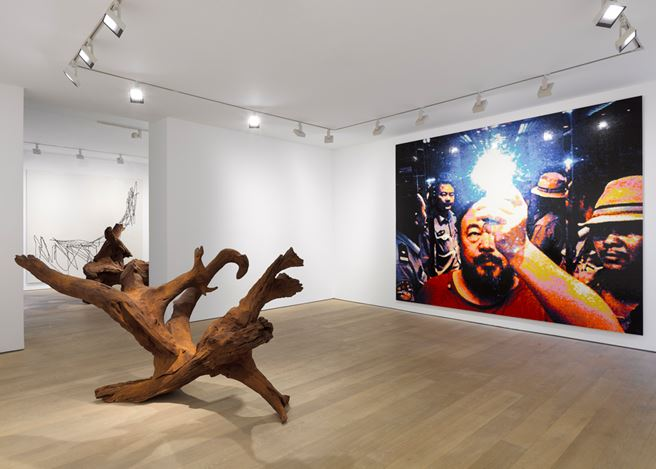 Exhibition view: Ai Weiwei, Roots, Lisson Gallery, Bell St, London (2 October–2 November 2019). Courtesy the artist and Lisson Gallery.