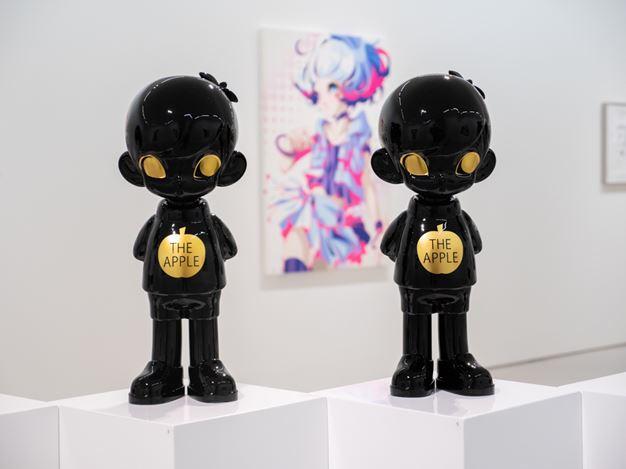 Exhibition view:Hiroyuki Matsuura, SUPER ACRYLIC SKIN – Quiet World, Eslite Gallery, Taipei (5 September–4 October 2020). Courtesy Eslite Gallery.