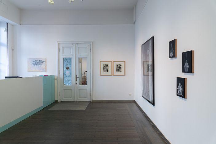 Exhibition view: Group Exhibition, HOMESHOUSES, Beck & Eggeling International Fine Art, Düsseldorf (2 September–30 October 2021). Courtesy Beck & Eggeling International Fine Art.