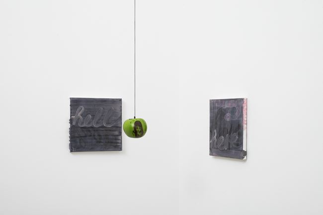 Hell here by Katja Seib contemporary artwork