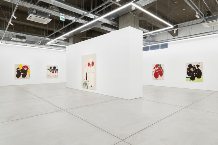 Installation view fromBeyond the Hillsby Susumu Kamijo