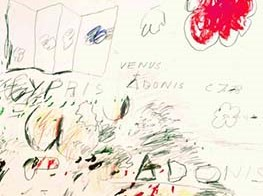 How Cy Twombly spliced poetry into his art