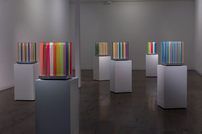 Exhibition view: Nike Savvas,Living on a Promise, Arc One Gallery, Melbourne (24 October–25 November 2017). Courtesy Arc One Gallery.