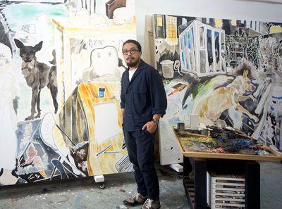Chris Huen Sin Kan: Painting Again and Again