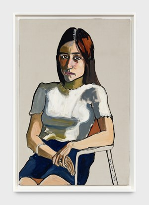 Nancy Selvage by Alice Neel contemporary artwork