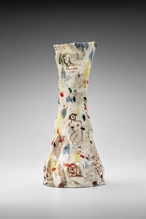 Vase (tall, funnel-shaped) by Stephen Benwell contemporary artwork