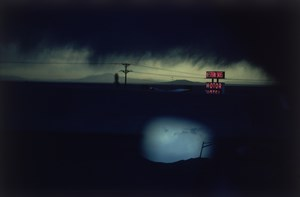 Western Skies Motel Colorado by Ernst Hass contemporary artwork