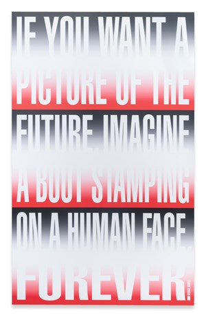 Untitled (IF YOU WANT A PICTURE) by Barbara Kruger contemporary artwork