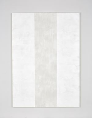 Untitled (White Inner Band, Beveled) by Mary Corse contemporary artwork