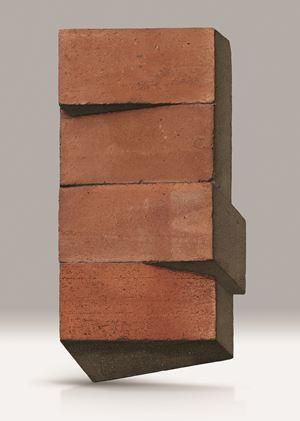 Mattoni con Cemento e Ombra by Giuseppe Uncini contemporary artwork