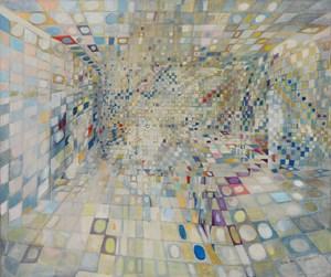 Le couloir (ou Intérieur) by Maria Helena Vieira da Silva contemporary artwork