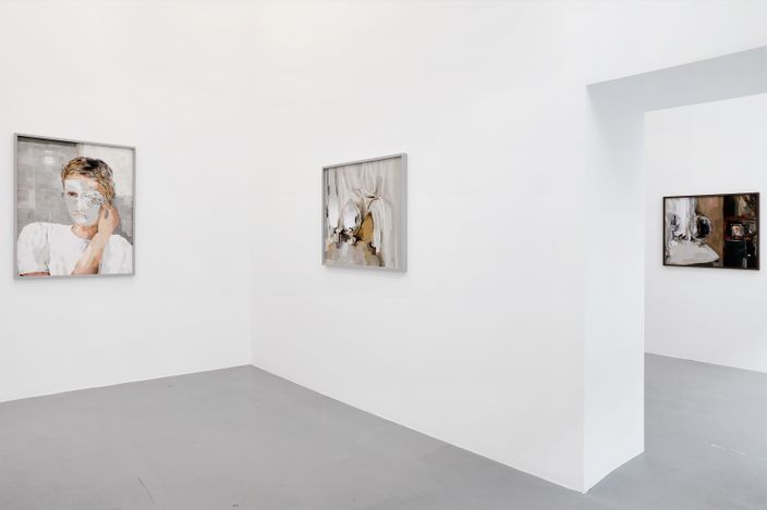 Exhibition view: Alina Frieske, Can you see me better now?, Fabienne Levy, Lausanne (20 March–29 May 2021). Courtesy Fabienne Levy. Photo: Neige Sanchez.