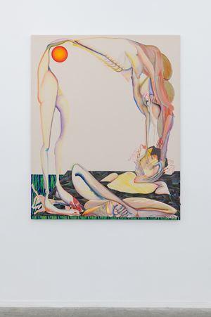 Tha Devil's in Tha Details by Christina Quarles contemporary artwork
