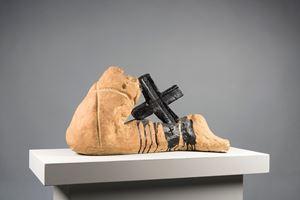 Cama i creu by Antoni Tàpies contemporary artwork