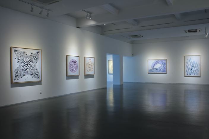 Exhibition view:  Kim Jaeil, Visual and Perception, Sundaram Tagore Gallery, Singapore (14 February–11 April 2020). Courtesy Sundaram Tagore Gallery.