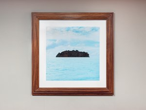 Island Profile by Map Office contemporary artwork