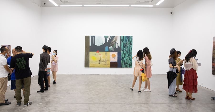 Exhibition view: Ji Lei, Trans-land · Shanshui, A Thousand Plateaus Art Space, Chengdu (18 July–30 August 2020). CourtesyA Thousand Plateaus Art Space.
