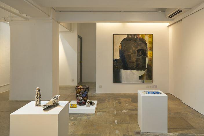 Exhibition view: Kimiyo Mishima, SHOP Taka Ishii Gallery (9 February–21 March 2021). Courtesy SHOP Taka Ishii Gallery. Photo: Anthony Kar-Long Fan.