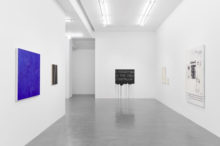 Exhibition views: Group Exhibition, WORDS,Simon Lee Gallery, London (10–31 July 2020). Courtesy Simon Lee Gallery. Photo: Ben Westoby.