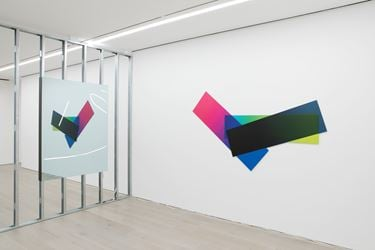 Exhibition view: Artie Vierkant,Rooms Greet People By Name,Perrotin, New York (3 March–8 April 2018). Courtesy Perrotin. Photo: Guillaume Ziccarelli.