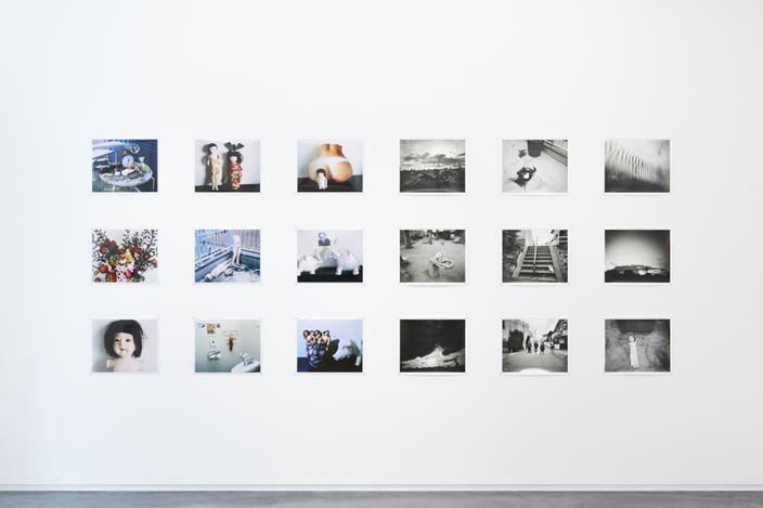 Exhibition view: Nobuyoshi Araki, Umegaoka Elegy, Taka Ishii Gallery, Tokyo (25 May–15 June 2019).© Nobuyoshi Araki. CourtesyTaka Ishii Gallery.