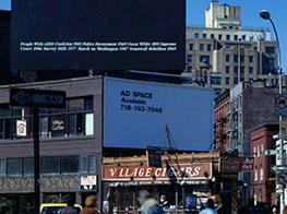 Felix Gonzalez-Torres Billboard Returns to New York for 50th Anniversary of Stonewall