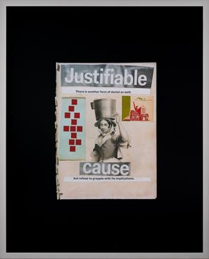 This year, justifiable cause... by Brook Andrew contemporary artwork
