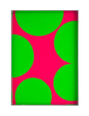 Fluo cut #8 29 x 21 x 3,2 am by Regine Schumann contemporary artwork