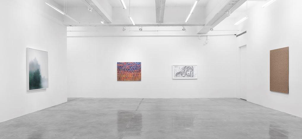 Exhibition view: Group Exhibition, Tina Kim Gallery Presents: Art Without Borders, Tina Kim Gallery, New York (30 November 2020–30 January 2021). Courtesy Tina Kim Gallery.
