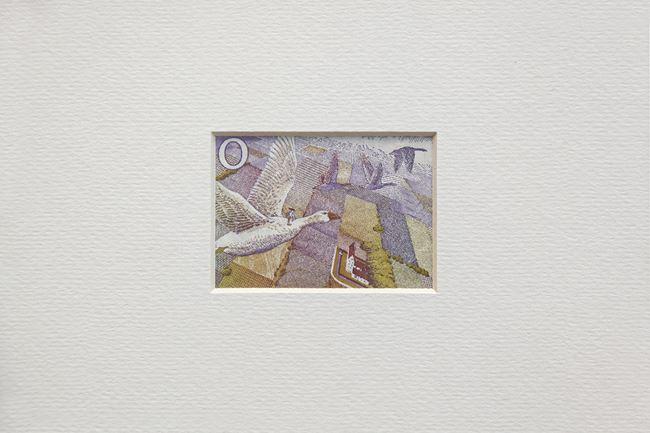 Work with Money, 20 SEK by Elmas Deniz contemporary artwork