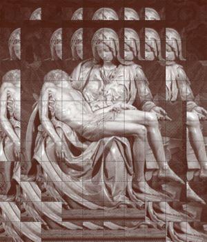 Pieta by Kichang Choi contemporary artwork