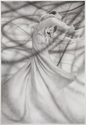 Gretchen Spinning by Jim Shaw contemporary artwork