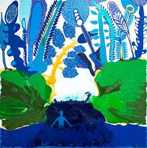 Tukumalagi (Desire) by John Pule contemporary artwork painting