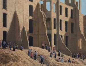 Upheaval by Serban Savu contemporary artwork