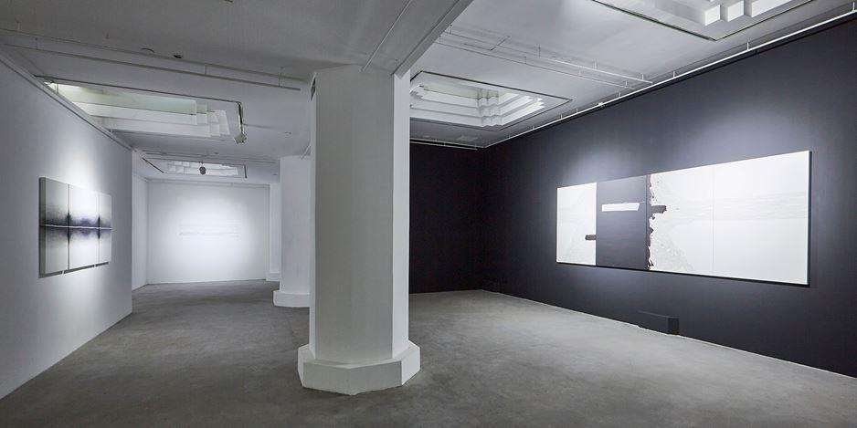 Exhibition view: Golnaz Fathi, A Long Line Without a Word, Pearl Lam Galleries, Shanghai (26 May–22 July 2018). Courtesy Pearl Lam Galleries.