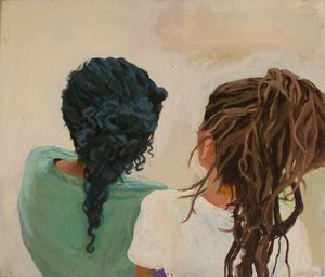 Two Heads by Fiza Khatri contemporary artwork