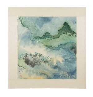 Landscape by Chen Jialing contemporary artwork