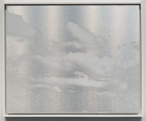 Kumo (Cloud) January 3 2021 8:28 AM NYC by Miya Ando contemporary artwork painting, works on paper, sculpture, drawing