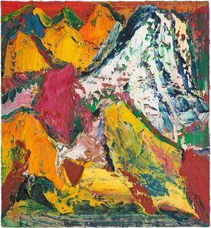 高古Ancient Landscape by Yin Zhaoyang contemporary artwork