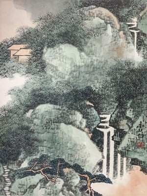 Landscape by Li Xubai contemporary artwork