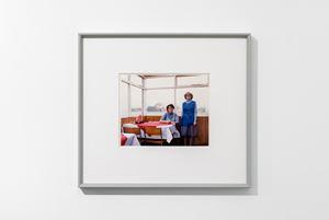 Café Assistants, Compass Café, Colsterworth, Lincolnshire by Paul Graham contemporary artwork