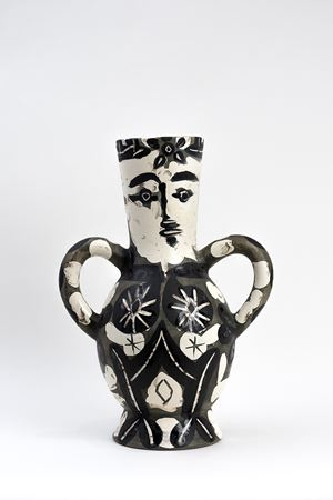 Vase with Two High Handles (Vase deux anses hautes) by Pablo Picasso contemporary artwork