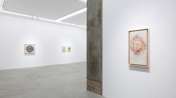 Contemporary art exhibition, Junko Oki, Embroidery at KOSAKU KANECHIKA, Tokyo