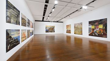 Contemporary art exhibition, Imants Tillers, Imants Tillers at Roslyn Oxley9 Gallery, Sydney