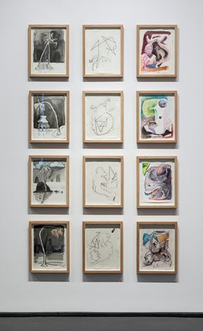 Exhibition view: Ben Quilty, Notes on Chaos, Tolarno Galleries, Melbourne (15 February–17 March 2018). Courtesy Tolarno Galleries. Photo: Andrew Curtis.