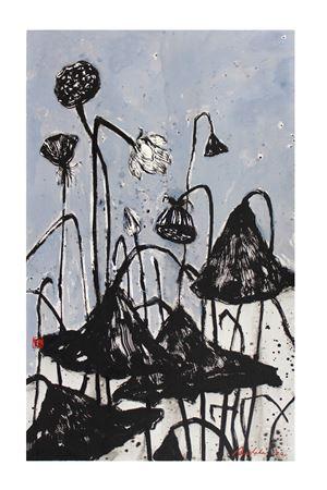 Sansāra 17 by Nuwan Nalaka contemporary artwork