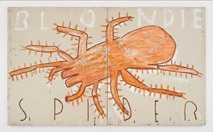 Spider by Rose Wylie contemporary artwork