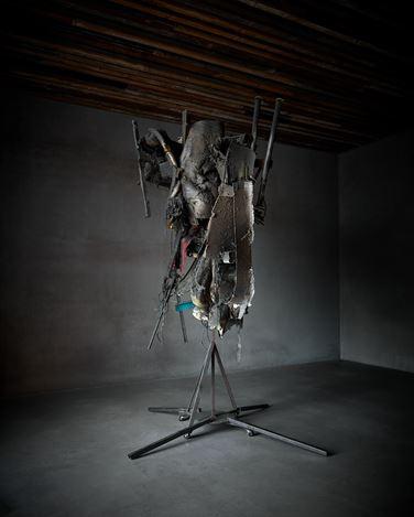 Exhibition view: Peter Buggenhout, Axel Vervoordt Gallery, Antwerp (30 November 2019–22 February 2020). Courtesy Axel Vervoordt Gallery.