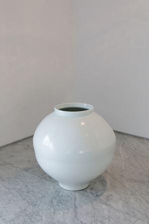 달항아리 Moon Jar by Kwon Dae-Sup contemporary artwork